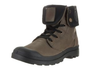 Palladium Baggy Leather Women's Chinchilla Fold Down Collar Hiking Combat Boots