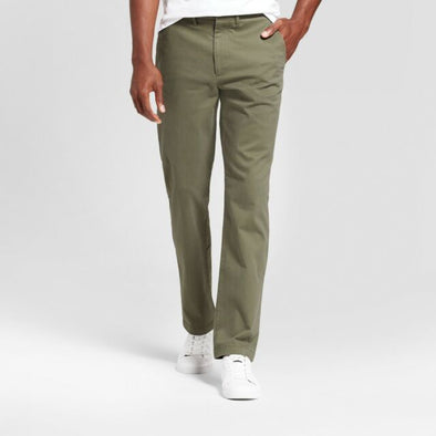 Goodfellow & Co Men's Olive Chino Pants Straight Leg