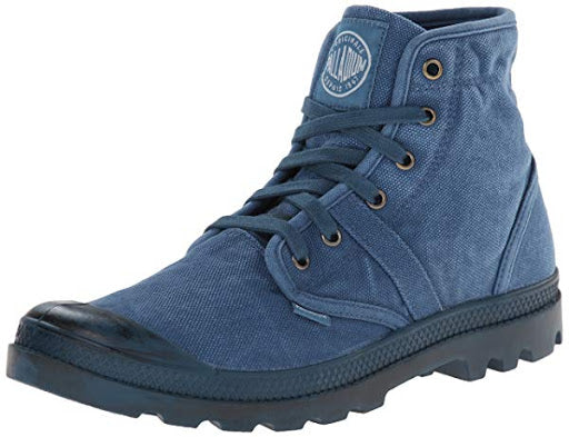 Palladium Pallabrouse Men's Legion Blue/Hi Rise Ankle Hiking Chukka Boots