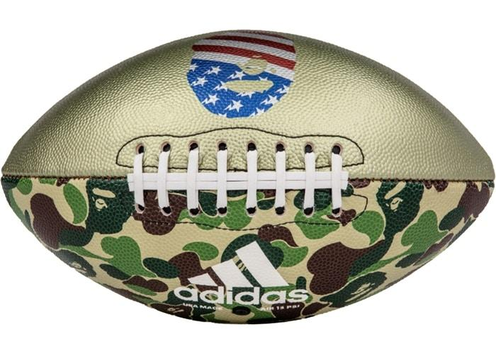 BAPE x Adidas Football Green