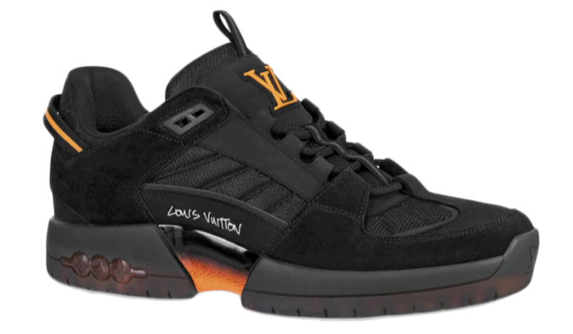 Louis Vuitton x Lucien Clark A View Sneaker Black