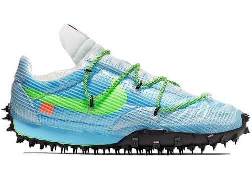 OFF-WHITE x Wmns Waffle Racer 'Vivid Sky'