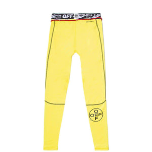 OFF-WHITE TRAINING PANTS Yellow