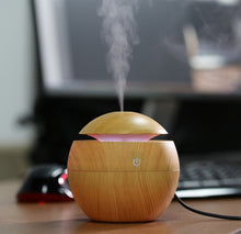 Load image into Gallery viewer, Ultrasonic Aroma Diffuser with Color Changing LED