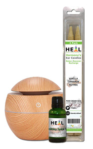 happyenergyamazinglife Natural Health Products H.E.A.L's Holiday Gift Set