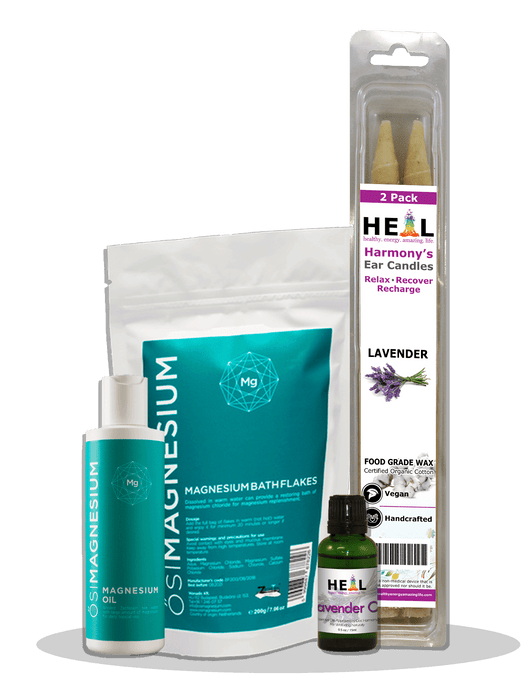 happyenergyamazinglife Natural Health Products H.E.A.L's Lavender Spa Kit