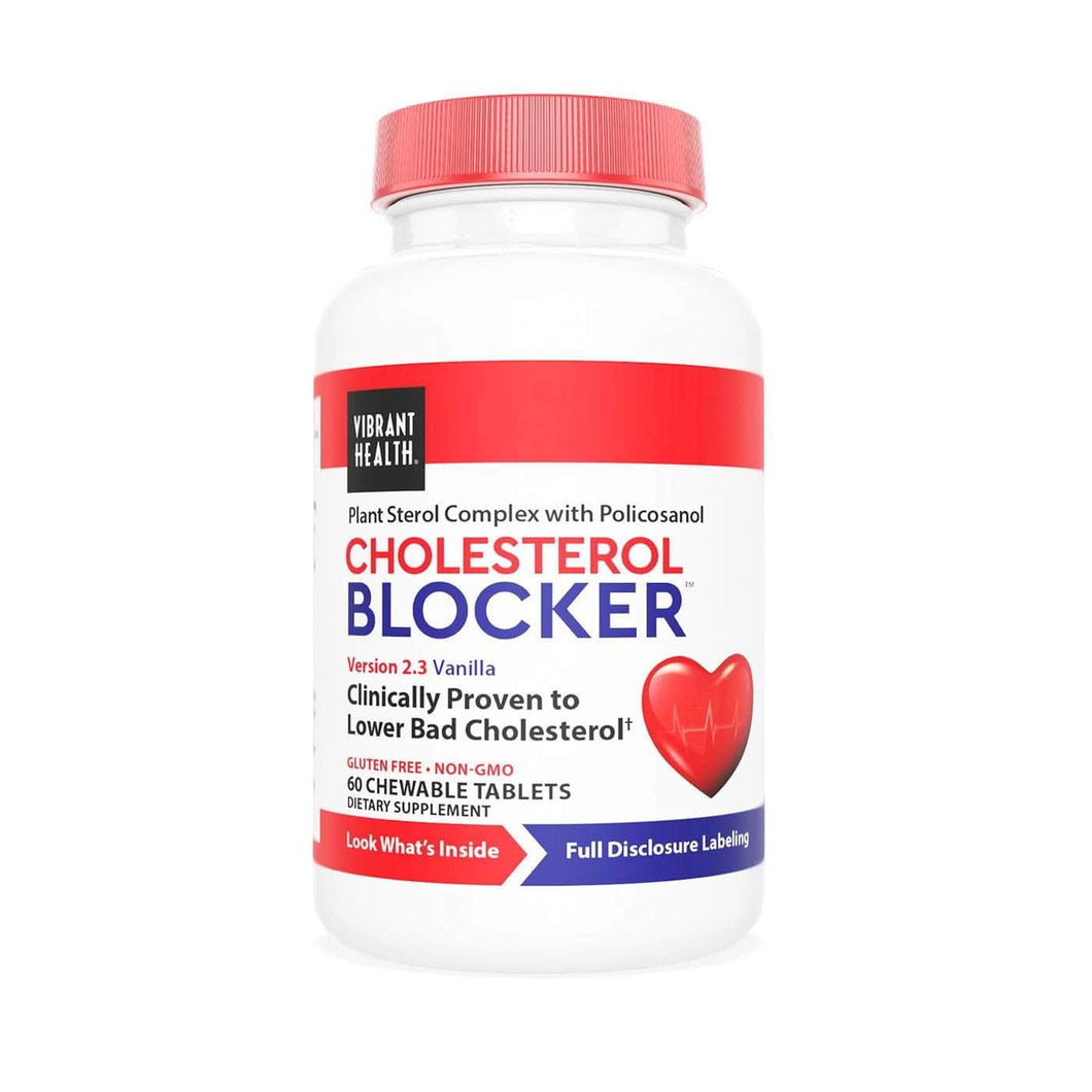 HEAL Natural Health Products Vibrant Health Cholesterol Blocker