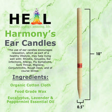 Load image into Gallery viewer, Eucalyptus, Lavender & Peppermint Ear Candles - Bulk