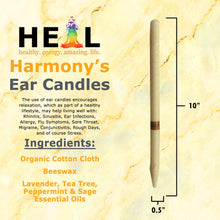 Load image into Gallery viewer, Herbal Beeswax Harmony's Ear Candles - Bulk