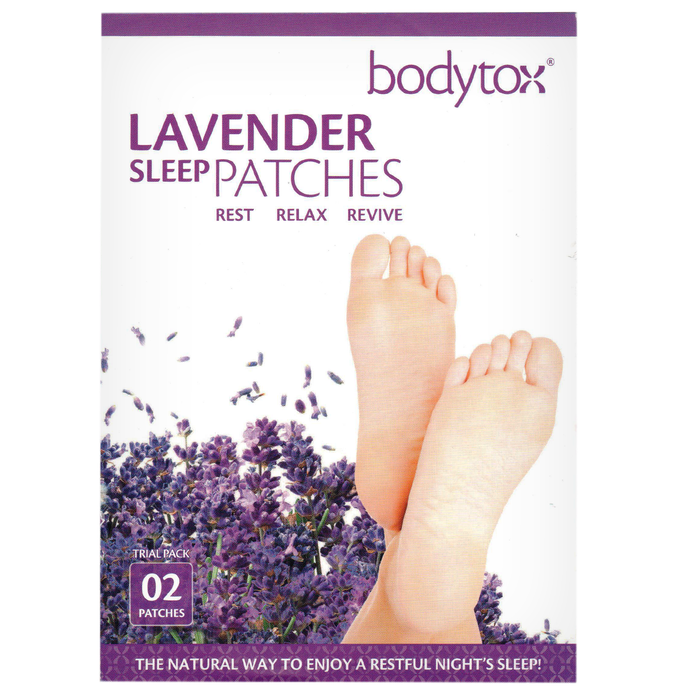 healthyenergyamazinglife Natural Health Products Bodytox Lavender Sleep Patches- 2 Pack