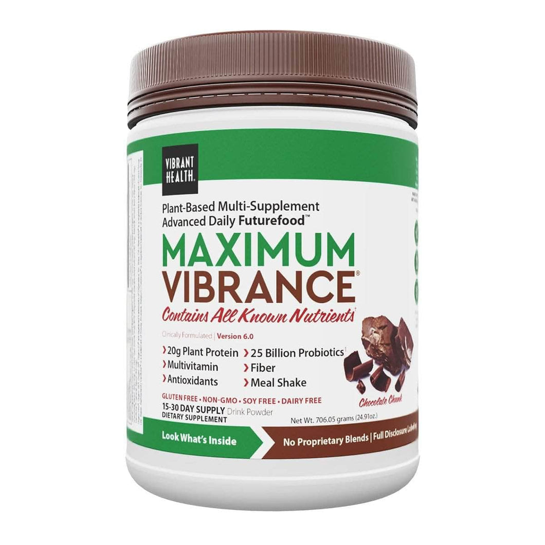 Vibrant Health - Maximum Vibrance Chocolate Chunk 21.26oz