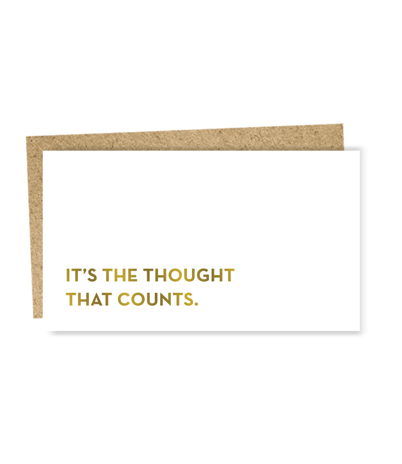 thought mini card