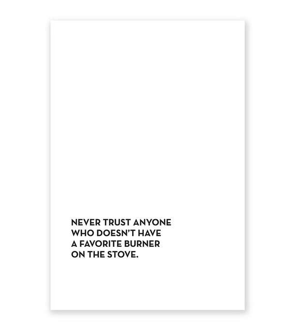 favorite burner tea towel
