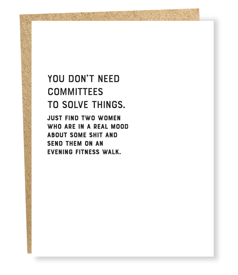 committees card