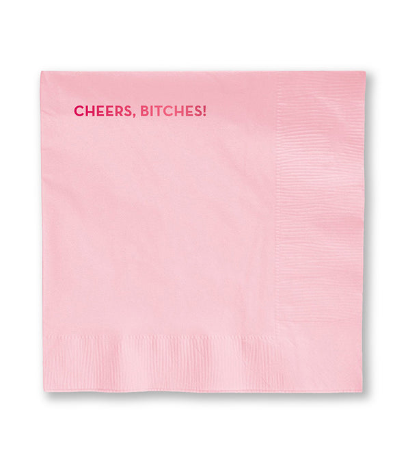cheers bitches napkins