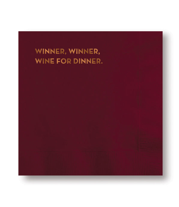 winner napkins