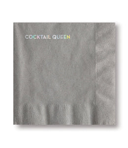 cocktail queen napkins