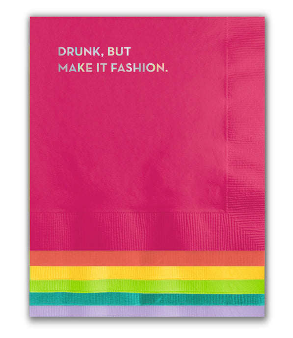 make it fashion pride napkins