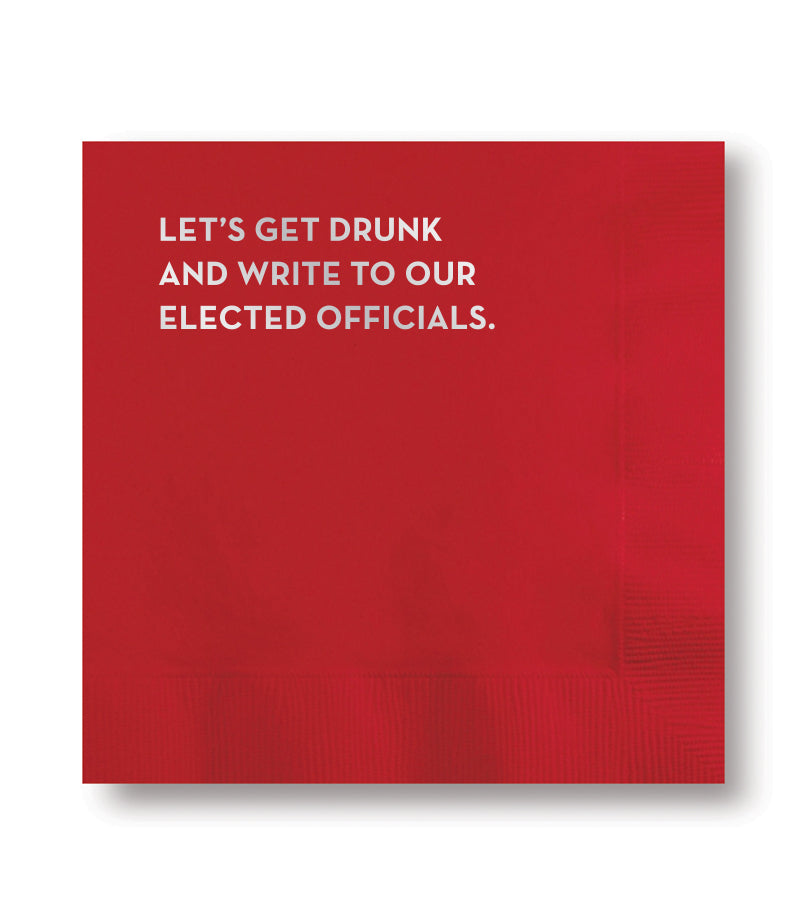 elected officials napkins