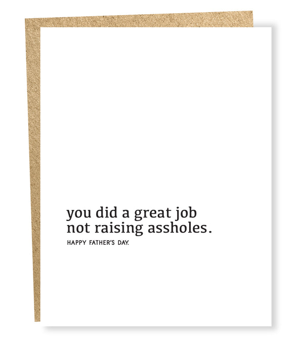 great job (father) card