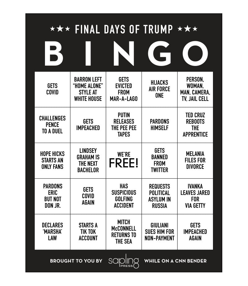 Download / Trump Bingo