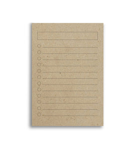list makers notepad