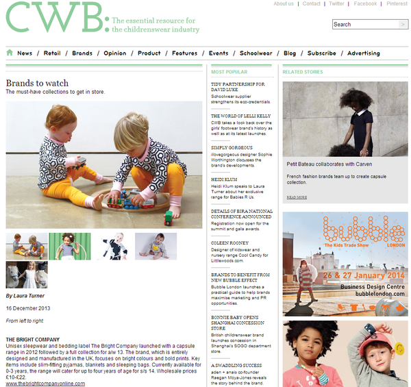CHILDRENSWEAR BUYER // DECEMBER 2013