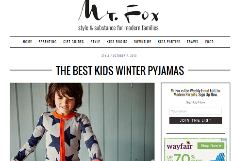 The Best Kids Winter Pyjamas