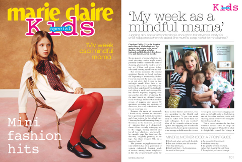 TBC IN MARIE CLAIRE KIDS