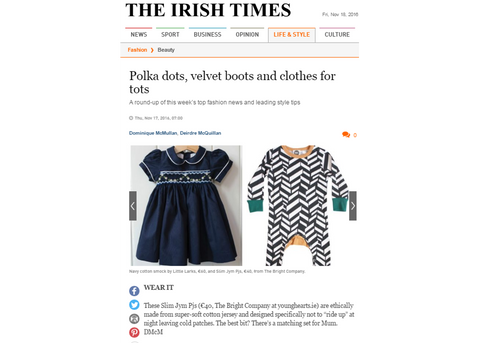 IRISH TIMES TBC THE BRIGHT COMPANY