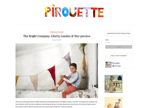 PIROUETTE LIBERTY LONDON