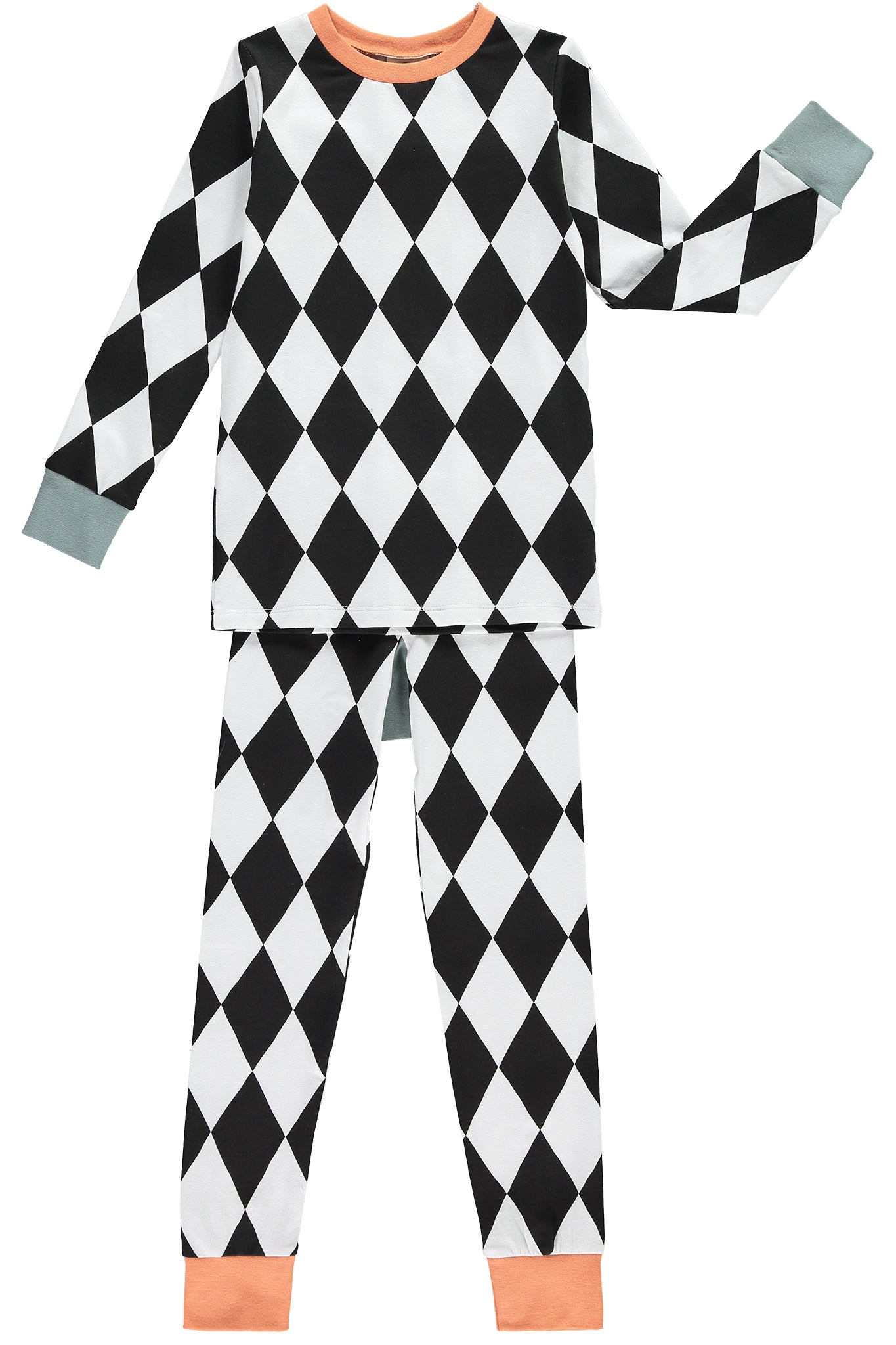 SLIM JYMS PYJAMAS - PYJAMAS - HARLEQUIN - The Bright Company