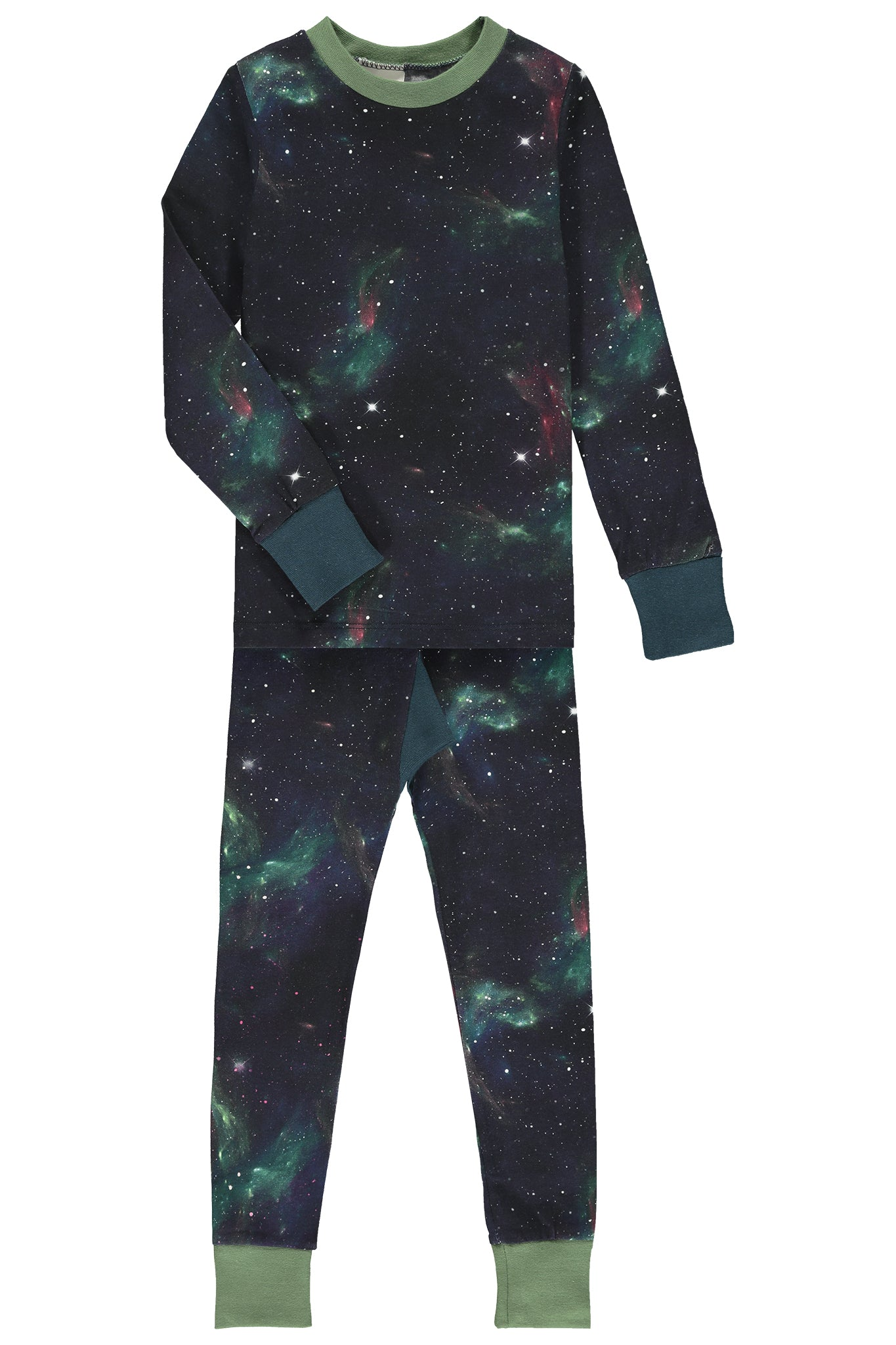 SLIM JYMS PYJAMAS - GALAXY PRINT