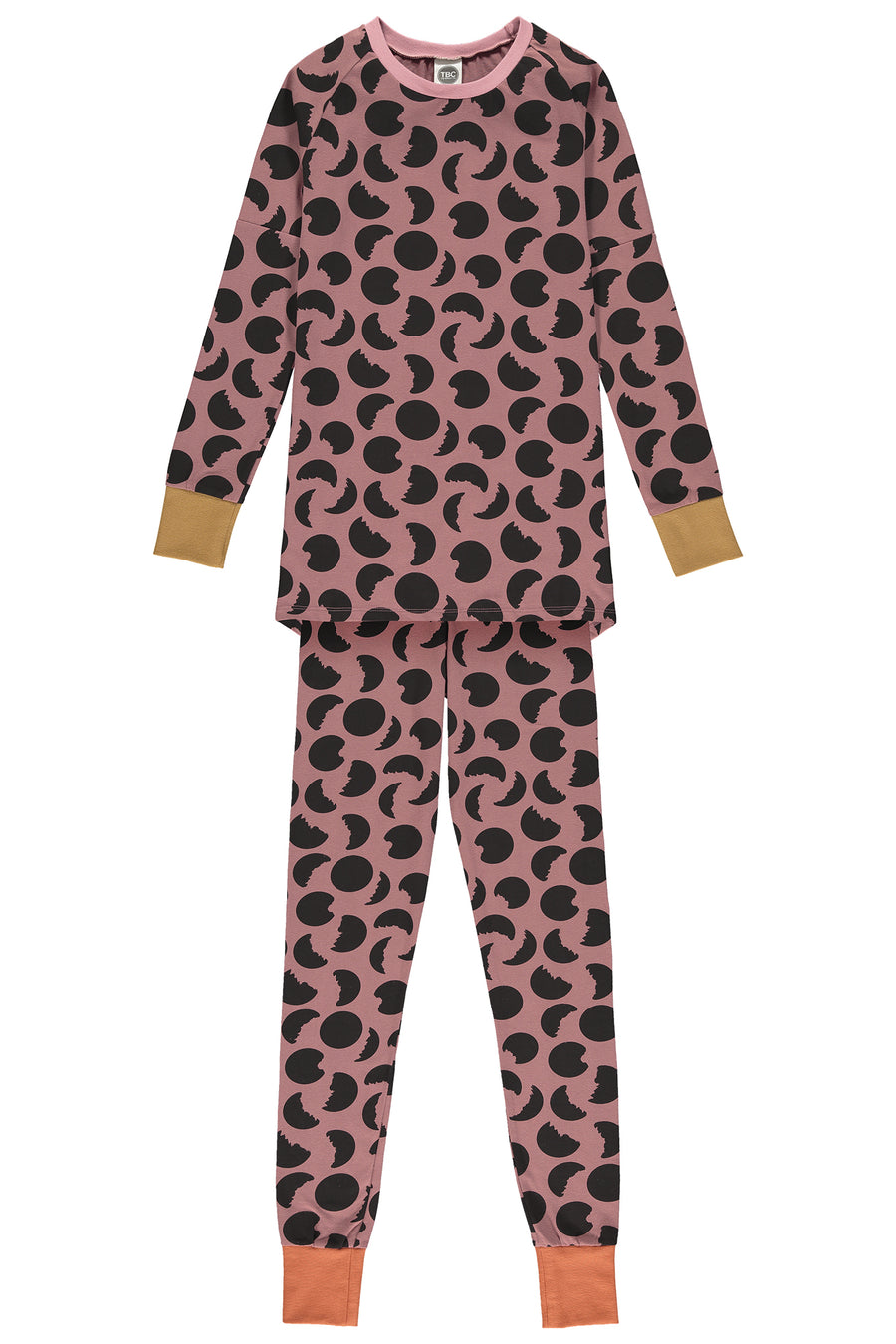 WOMEN'S SLIM JYMS PYJAMAS - MOONS APPLE BUTTER