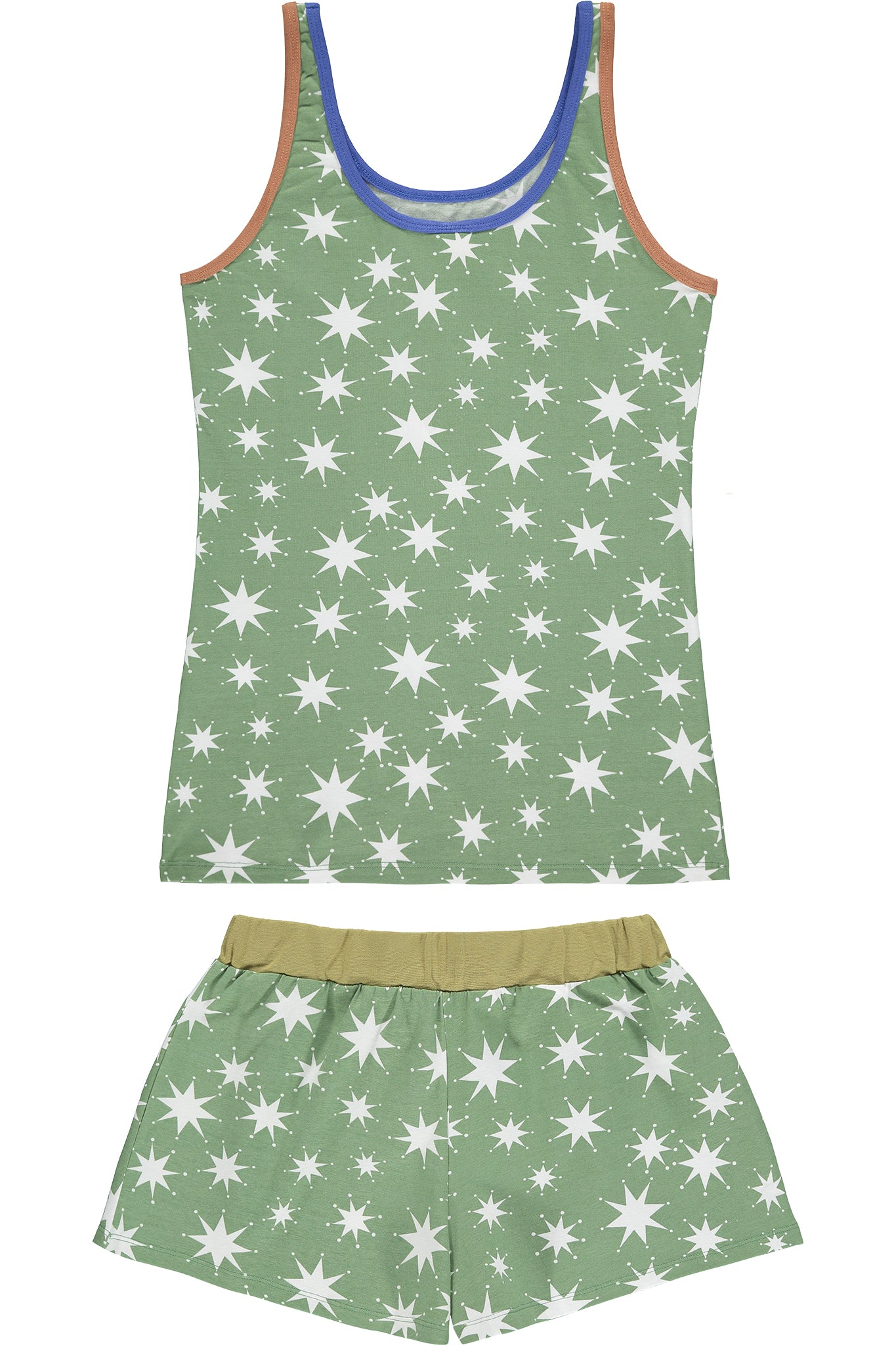 WOMEN'S SHORT JYMS- STAR HEDGE GREEN