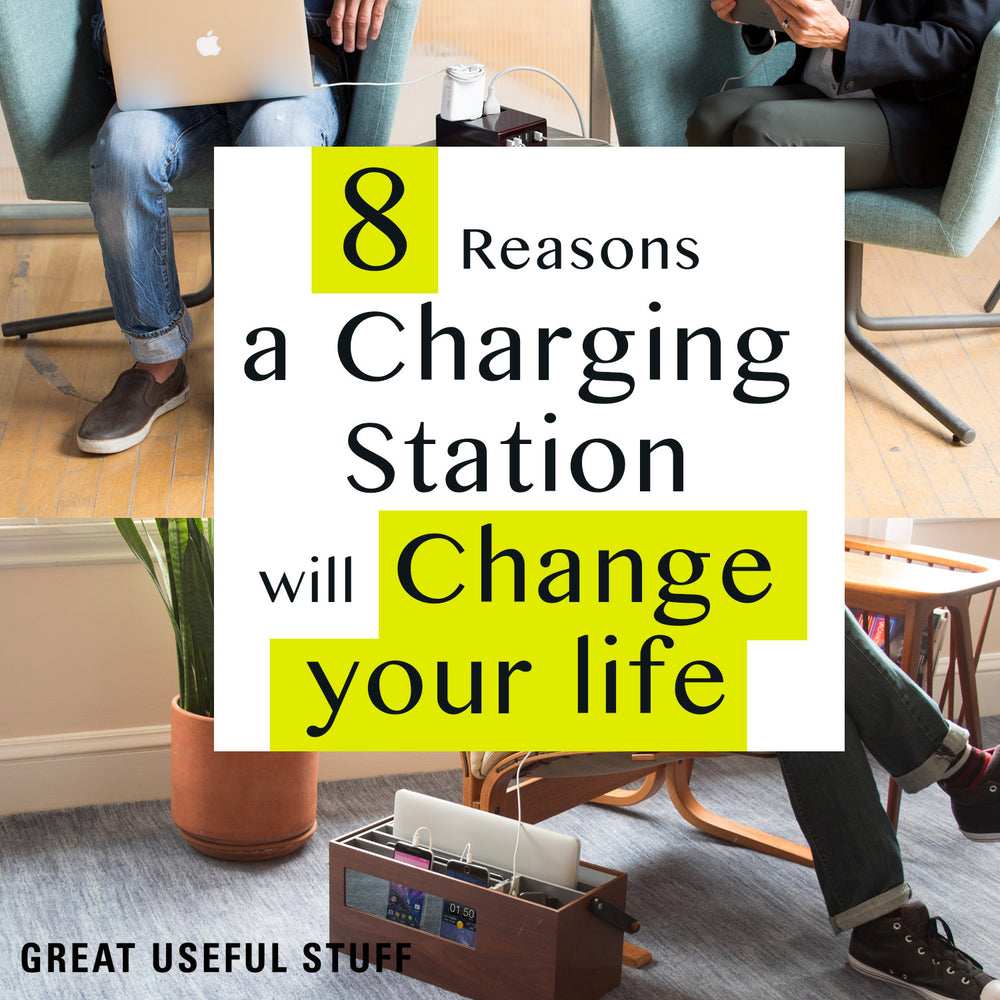 8 Reasons a Charging Station will Change your Life