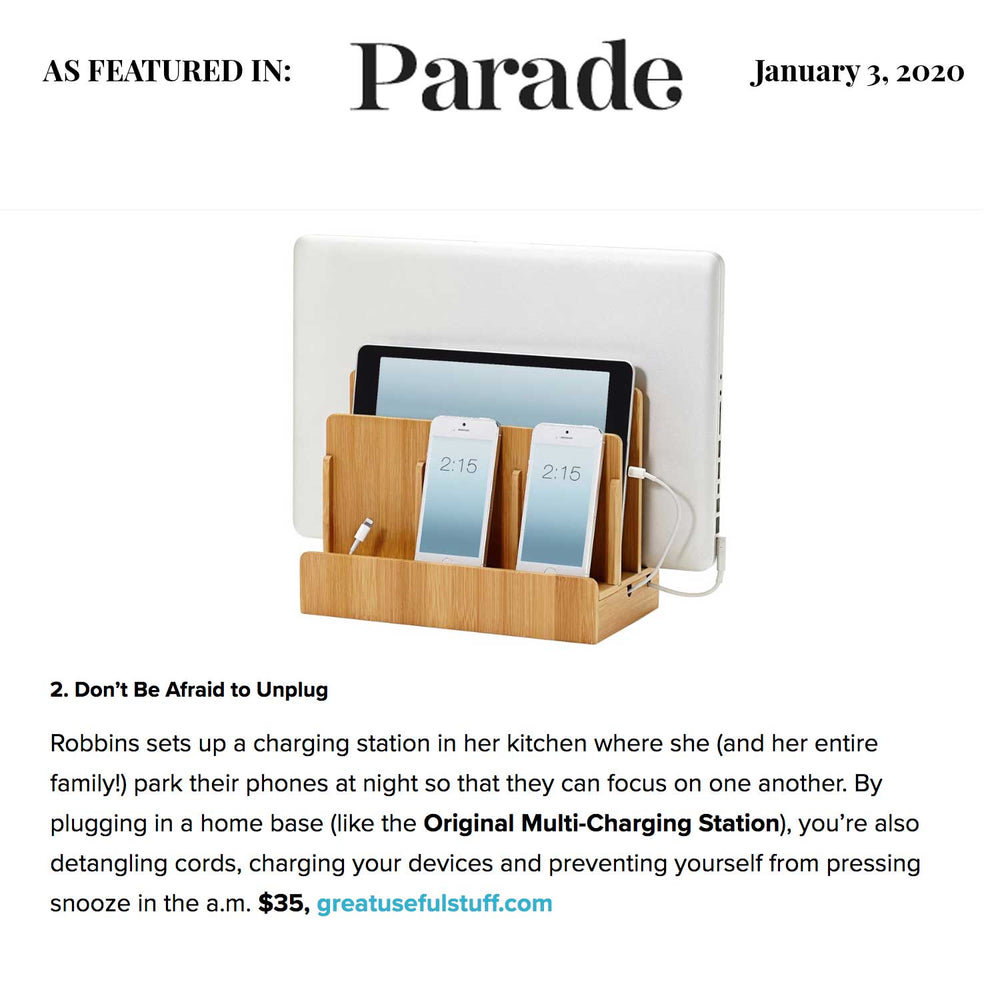Our Multi Featured in Parade Magazine!