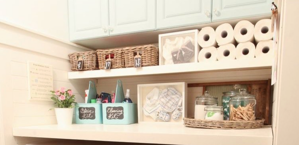 A Laundry Room to love laundry