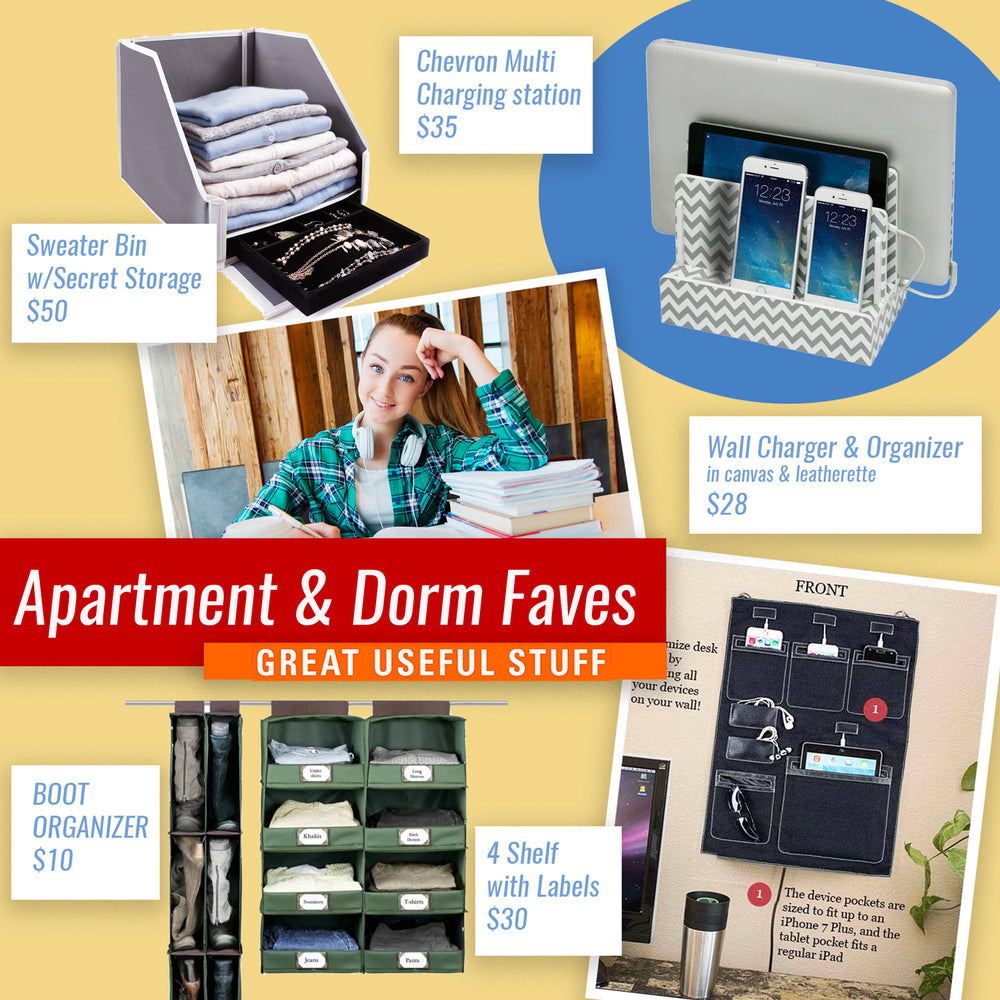 Back-to-College Dorm Favorites