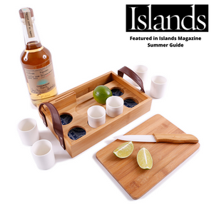 Featured in Islands Magazine Summer Guide - Tequila Tasting Set
