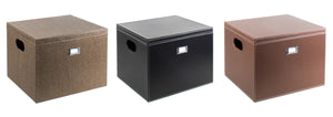 Hanging File Box - Black - Great Useful Stuff