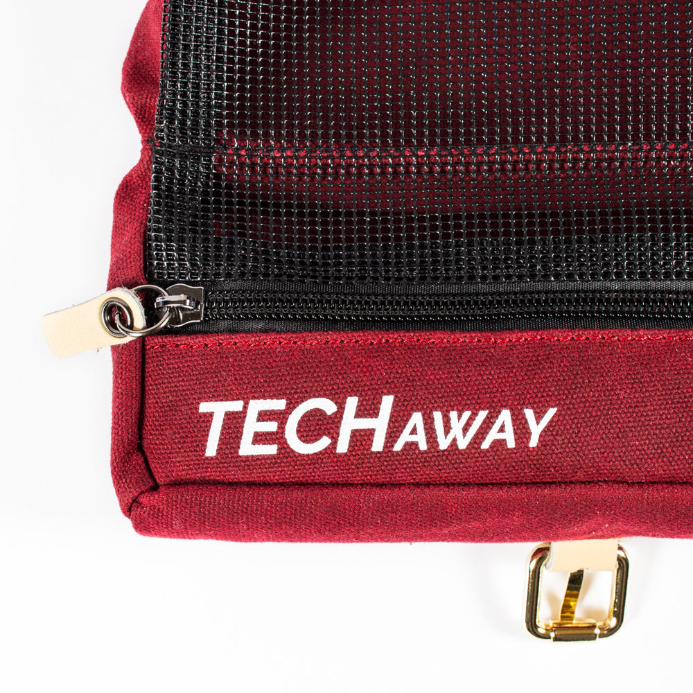 Load image into Gallery viewer, TechAway Travel Roll - Waxed Canvas - Great Useful Stuff