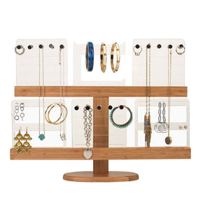 Load image into Gallery viewer, Floating Bamboo Jewelry Tree and Organizer - Great Useful Stuff