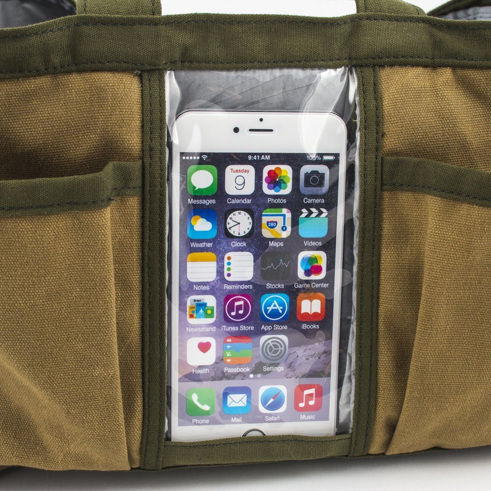Tech Tote with Built-In Bluetooth Speaker - Great Useful Stuff