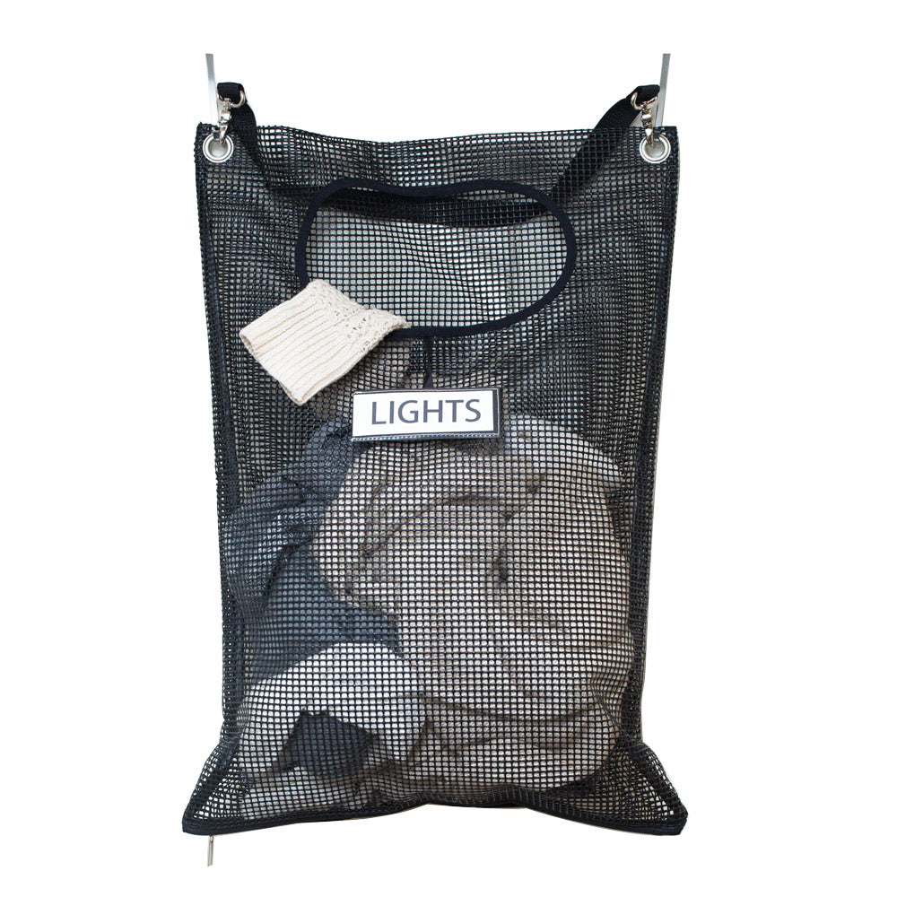 Load image into Gallery viewer, Mesh Over-the-Door Laundry Hamper - Great Useful Stuff