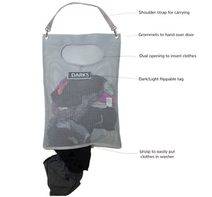 Mesh Over-the-Door Hamper