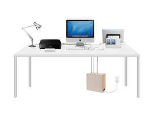 Cord Corral Organizer (with Free AC + USB Power Strip 29.99 Value) - Great Useful Stuff