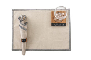"Load image into Gallery viewer, ""Miss Manners"" Recycled Cotton Napkins (Set of 4) - Great Useful Stuff"
