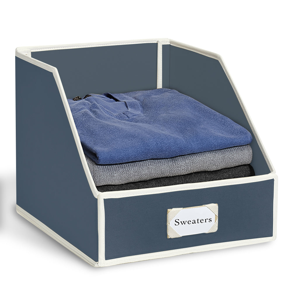Collapsible Sweater Bins for Organized Closet Storage - Great Useful Stuff