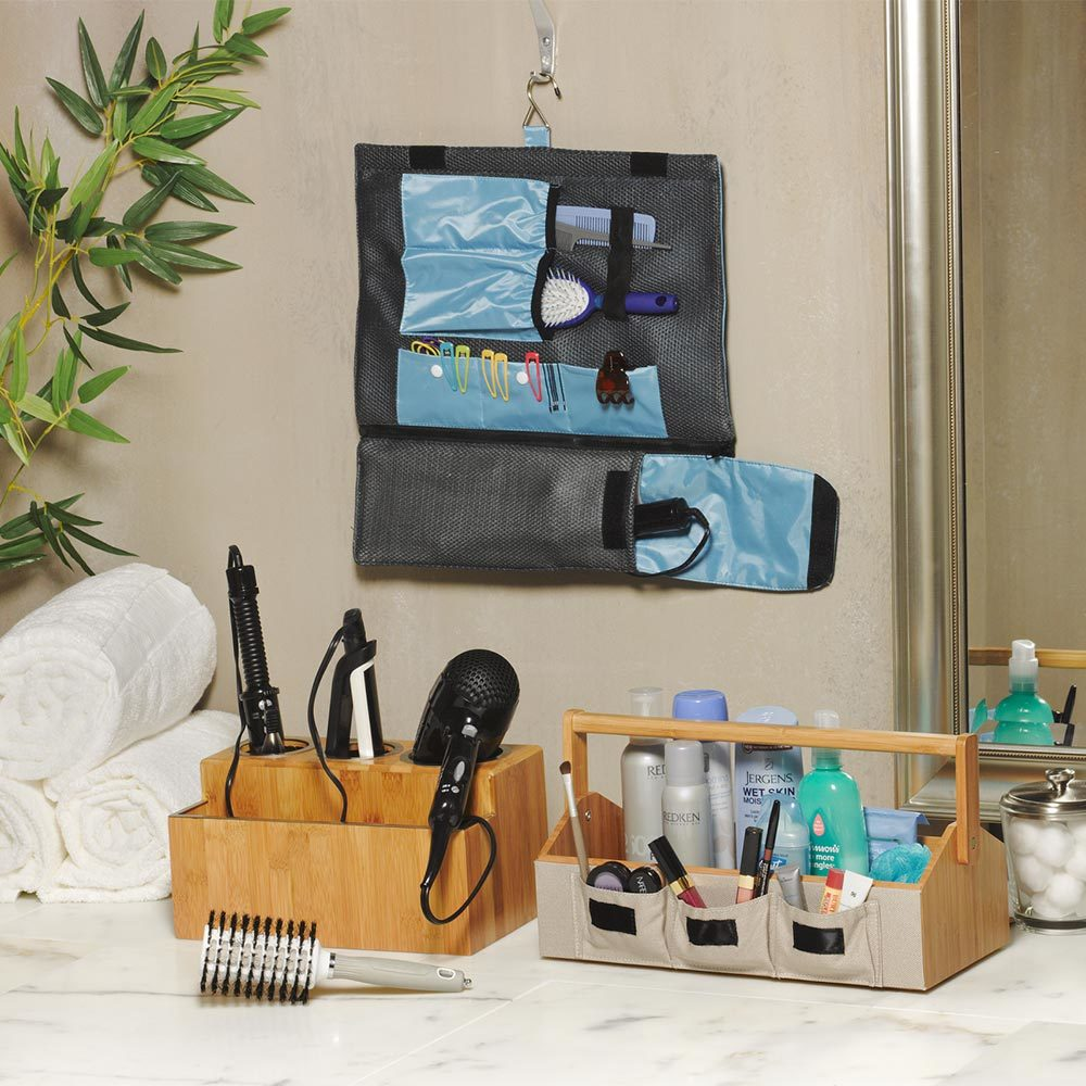 Load image into Gallery viewer, Hair Tool Travel Roll Organizer - Great Useful Stuff